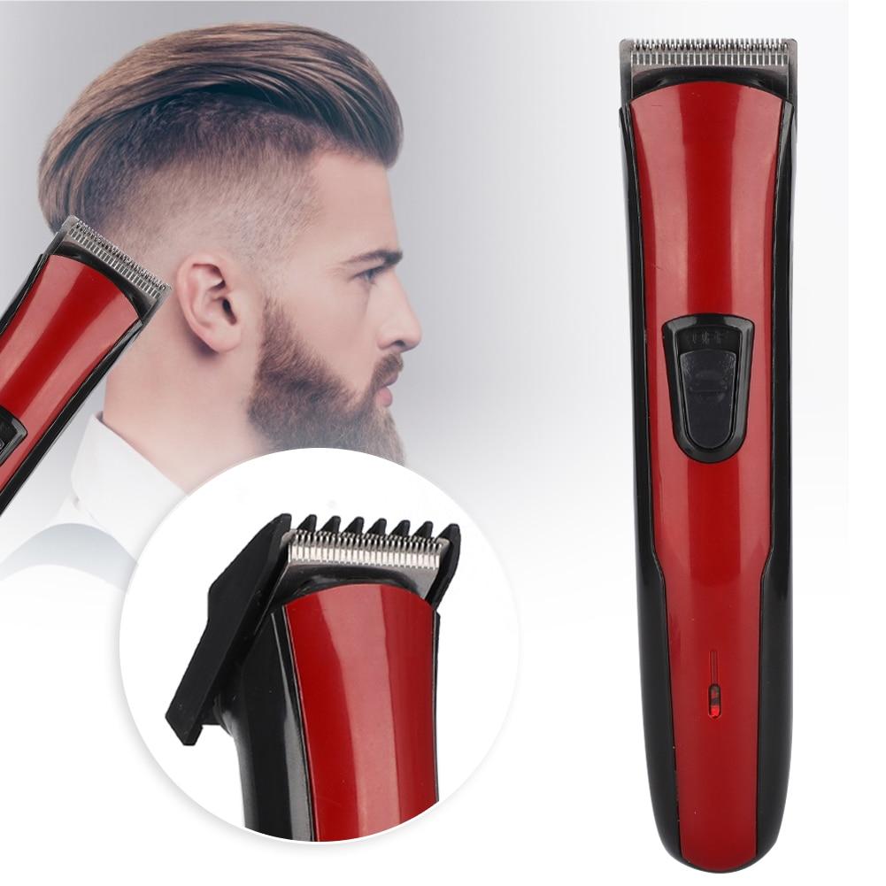 Cortauñas de pelo para hombre, Kit Profesional de peluquero, cortadora de pelo eléctrica lavable, enchufe de carga, máquina de afeitar de doble uso, juegos de enchufe de la UE