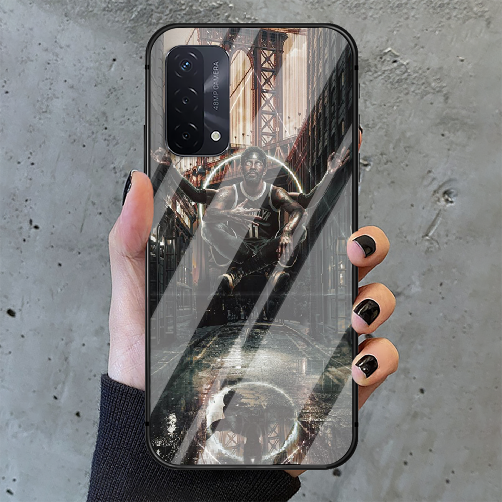 Kyrie Irving Basketball 11 Phone Tempered Glass Case Cover For oppo realme find a x c xt gt 2 53 3 6 7 50 11 i Pro 4g 5g  - buy with discount