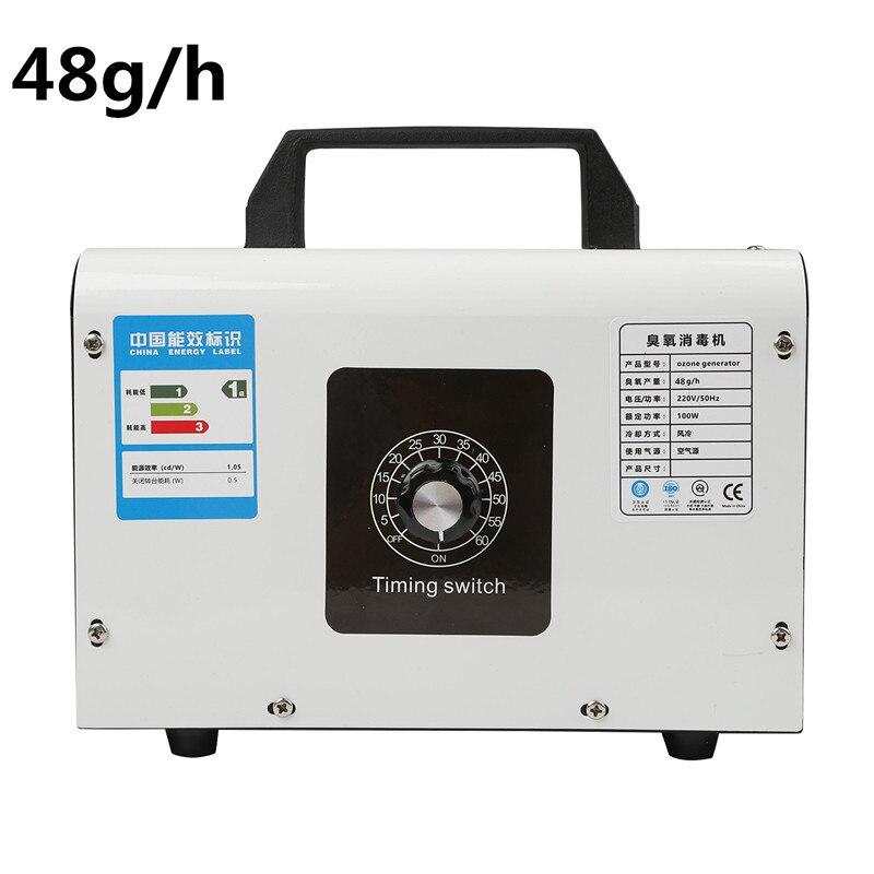 Generador de Ozono para el hogar, purificador de aire de 220V, 48 g/h, 32 g/h, máquina ozonizadora, generador de Ozono O3, desodorante, equipo de desinfección