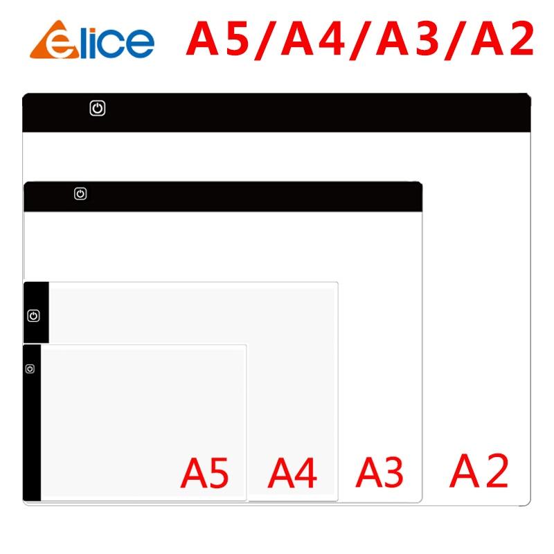 Panel de luz LED A2/A3/A4/A5 para pintura de diamantes, caja de luz...