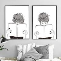Affiches de peinture sur toile pour decoration de noel  tableau dart mural pour fille  pour salon  decoration de maison