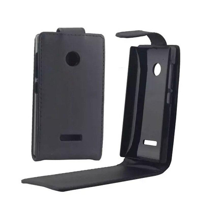 Coque PU leder telefon fällen Flip Abdeckung Für Microsoft Nokia Lumia 532 N532 Zurück Telefon Taschen Vertikal Up-Down-öffnen haut beutel