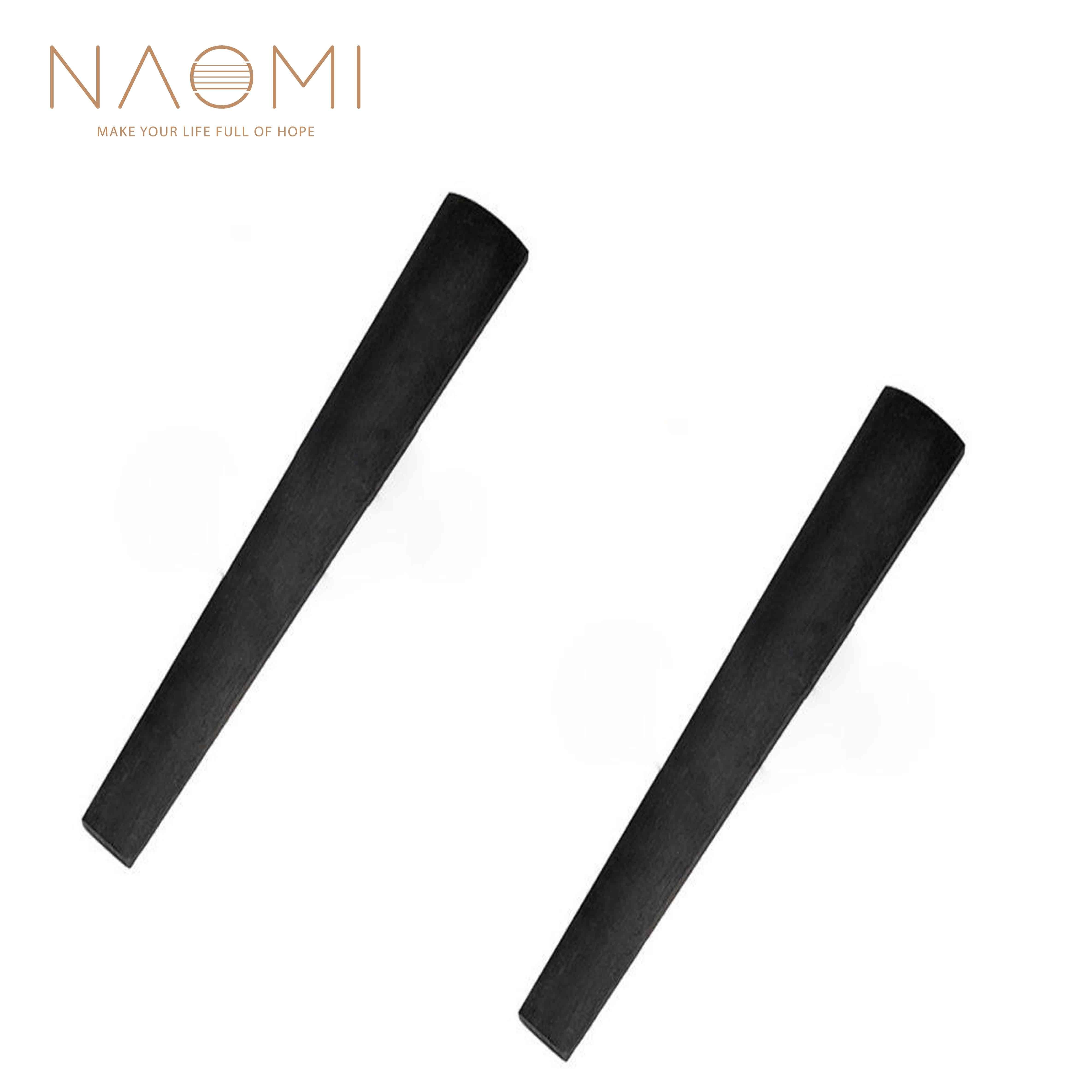 NAOMI 2 шт. скрипка 4/4 Эбеновое дерево аксессуары для скрипки часть для скрипки 4/4
