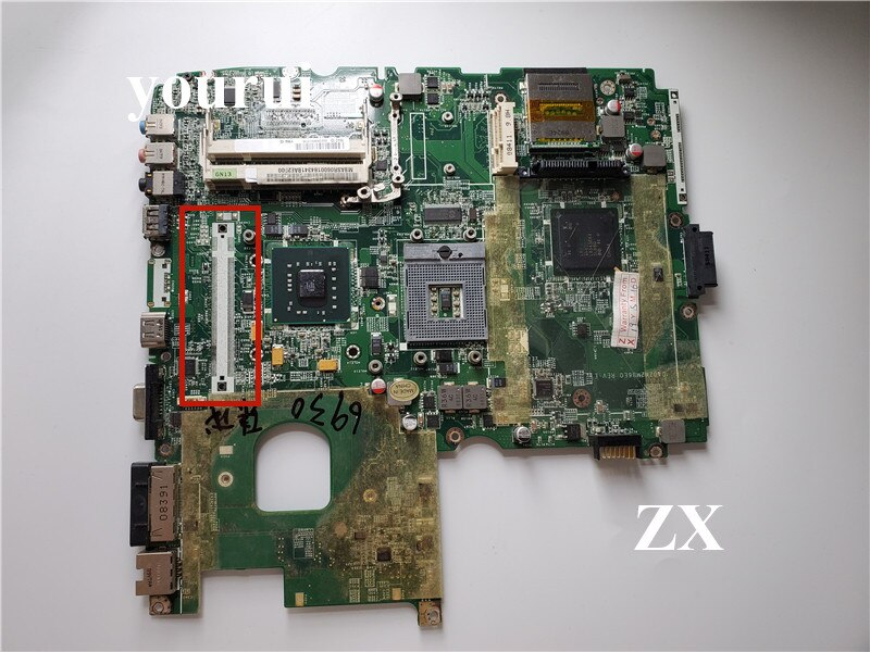 DA0ZK2MB6F1 MBASR06001 MB.ASR06.001 لشركة أيسر أسباير 6930 6930g اللوحة الأم للكمبيوتر المحمول GM45 DDR2