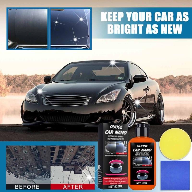 120 мл Авто покрытие против царапин агент ремонт нано-распыляющее окисления жидкости Керамика покрытие для машины, полироль для автомобиля р...