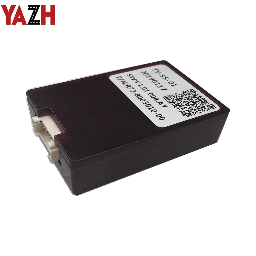 Caja decodificador YAZH Canbus para Toyota prado 2010-2012 reproductor de DVD de coche Radio Estéreo soporte JBL amplificador controles de volante