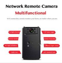 4K HD WiFi caméra Mini caméra enregistreur Audio vidéo avec IR Vision nocturne détection de mouvement petit caméscope sans fil mini caméra