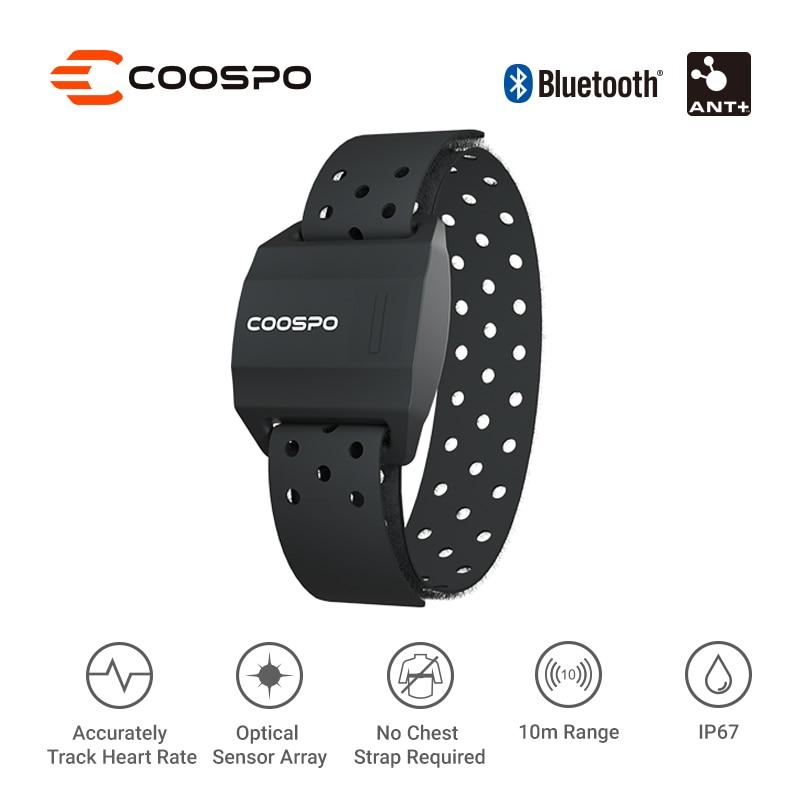 датчик wahoo wfbtsc02 Монитор сердечного ритма CooSpo, наружный фитнес-браслет, оптический датчик сердечного ритма, Bluetooth 4,0 ANT + для велокомпьютера Garmin Wahoo