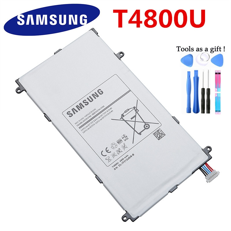 "Bateria original para samsung t4800u 4800 mah para samsung galaxy tab pro 8.4 ""t320 SM-T321 t325 t321 substituição tablet bateria pc"