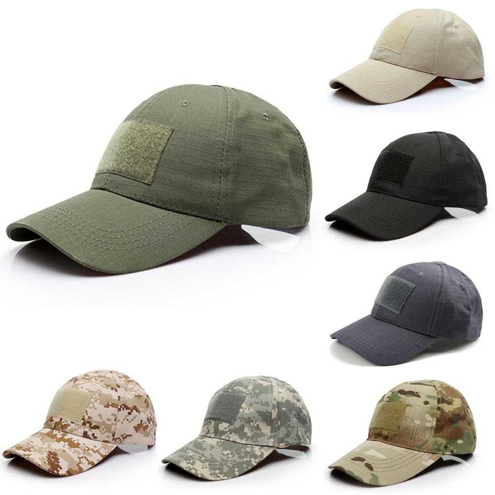 AliExpress - 2021 Outdoor Sport Snap Back Baseball Caps Camouflage Simplicity Hunting Army Cap Military Tactical Hat Camo Cap For Adult Kids
