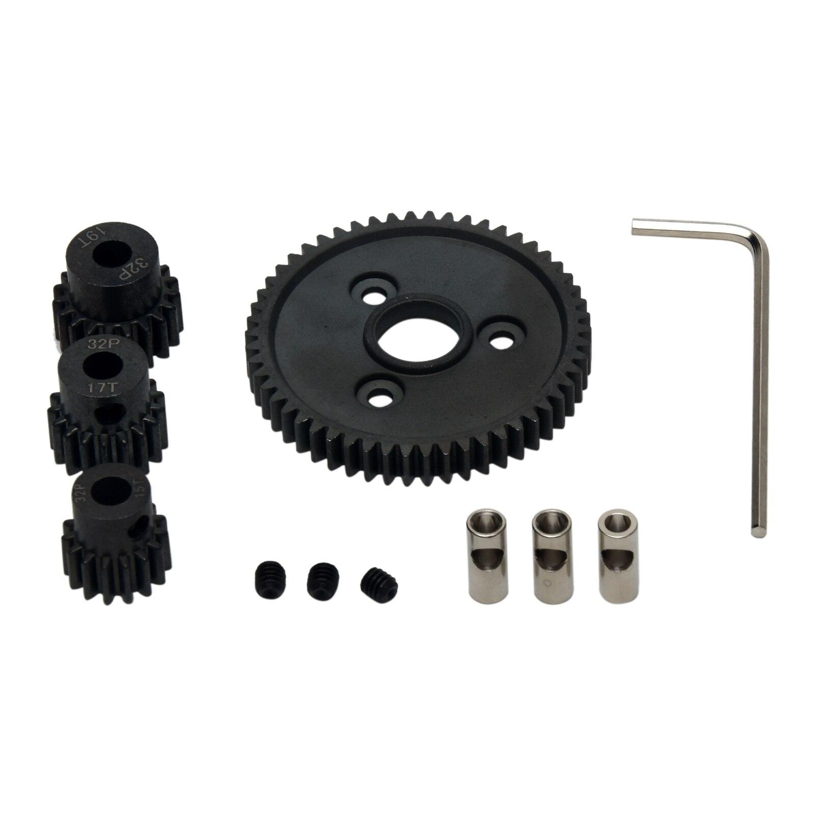 RC Car 54T Repair 1:10 Replacement Parts 0.8 Metric Pitch Metal Steel Durable Kids Toy Motor Spur Ge