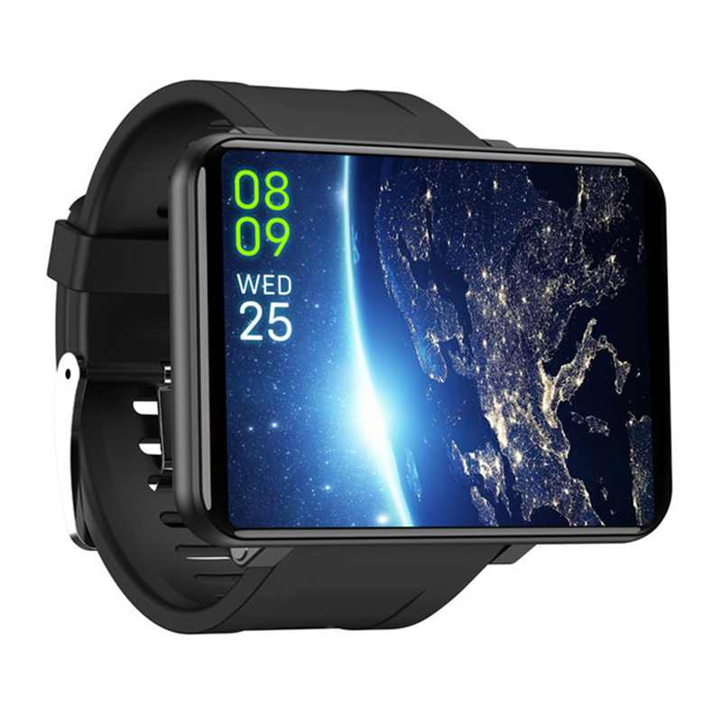 LETINE DM100 4 جرام 2.86 بوصة شاشة ساعة رقمية أندرويد 7.1 3 جيجابايت 32 جيجابايت 5MP كاميرا 480*640 القرار 2700 مللي أمبير بطارية Smartwatch الرجال