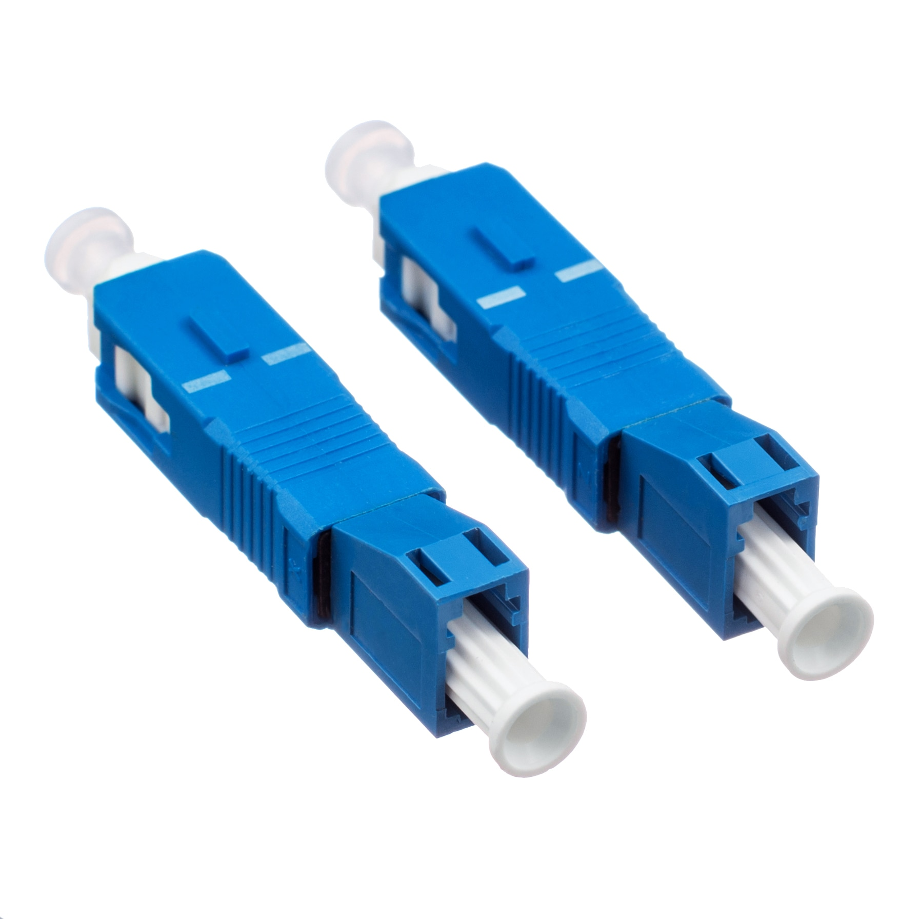 SC Male to LC Female Fiber Optic Adapter SC-LC Hybrid Optical Adaptor Insertion loss less than 0.20db