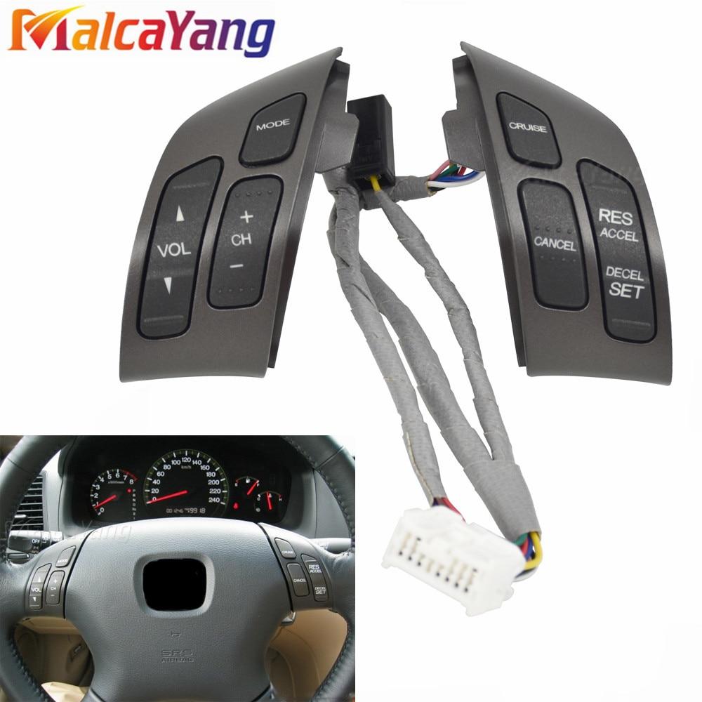 35880-SDB-A21 35880-SDB-A01ZA multifunción volante combinación Control SwitchFor HONDA ACCORD 2003-2007
