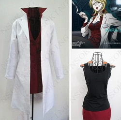 Anime psycho-pass analista karanomori shion cosplay costume feito
