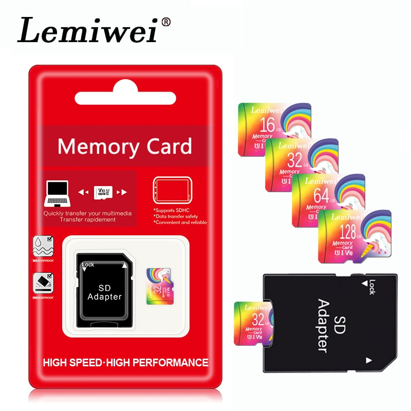 Clase superior de alta velocidad 10 tarjetas de memoria 32GB 16GB tarjeta micro sd 64GB/128GB/256GB usb flash mini pen drive 64gb tarjeta micro sd TF