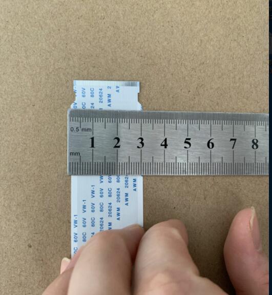 200 قطعة/الوحدة FFC/الشركة العامة للفوسفات مرنة شقة كابل 50pin 60 سنتيمتر حجم كابل ، ترحيب مخصص-صنع النظام.