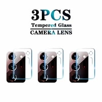 3pcs tempered glass on for samsung galaxy note20 ultra 5g camera lens screen protector protective glass note 20 ultra 20ultra