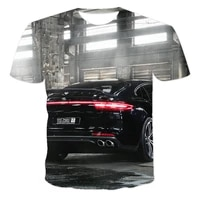 summer 3d printing racing mens t shirt own design round neck motorcycle motorcycle sale large casual breathable short sleeved