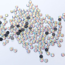 1440pcs Jonquil AB DMC HotFix Plaksteen Steentjes machine gesneden ijzer-on kledingstuk kristallen stenen Voor Trouwjurk Telefoon tas Schoenen