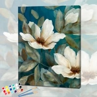 painting by numbers lotus handmade canvas diy kits for adults acrylic paints drawing oil pictures coloring by numbers decor art