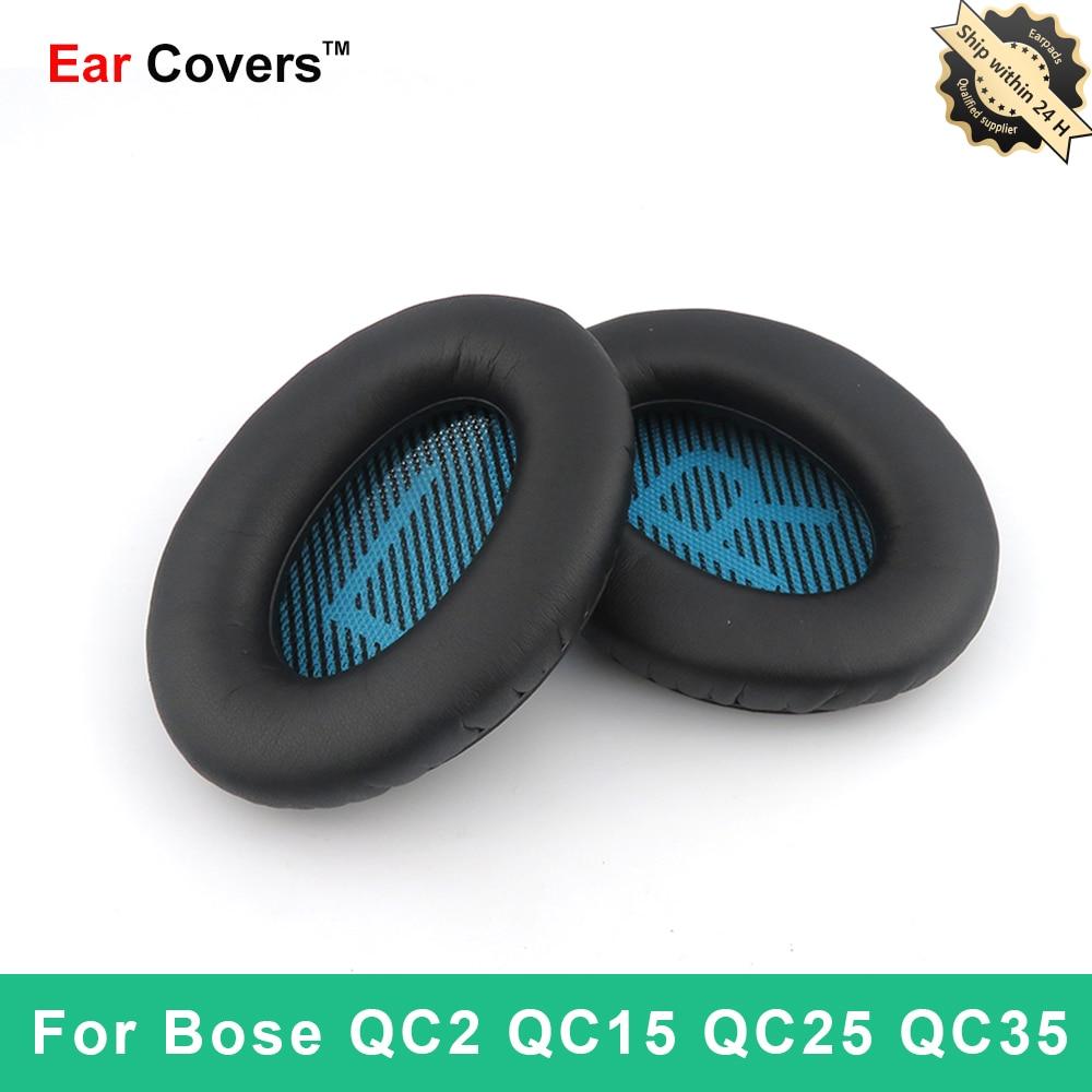 Almohadillas para auriculares Bose QC25 QC35 QC15 QC2, almohadillas de repuesto para...