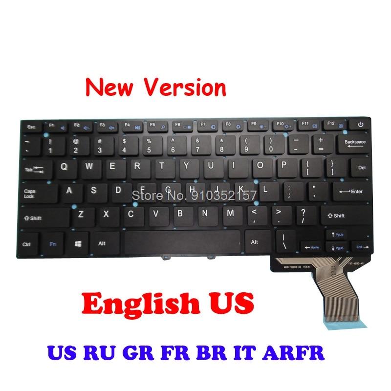 FR BR GR لنا لوحة المفاتيح لاوندا ل XiaoMa 41 OW114 YXT-NB93-48 MB27716008-BZ الإنجليزية H003-37 MB27716014 PRIDE-K2819 الفرنسية الألمانية
