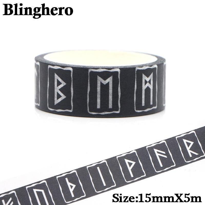 ca161-runas-vikingas-90s-enmascarar-washi-tape-decorativo-adhesivo-scrapbooking-papeleria-pegatinas-papel-fantasia-decoraciones-1-uds