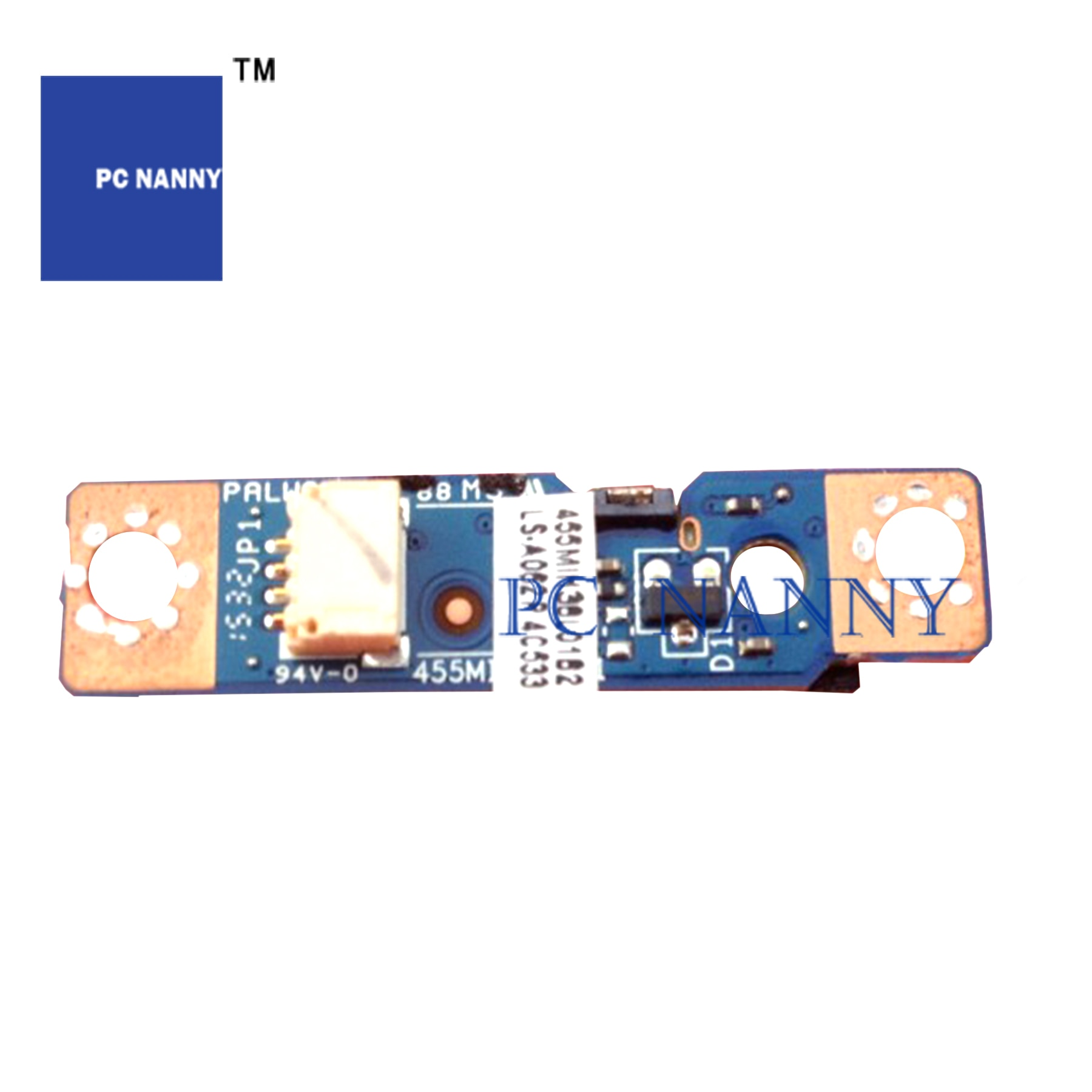 Pcnوالماني لجهاز Lenovo C560 لوحة زر الطاقة 90005360 كابل الطاقة 90204815