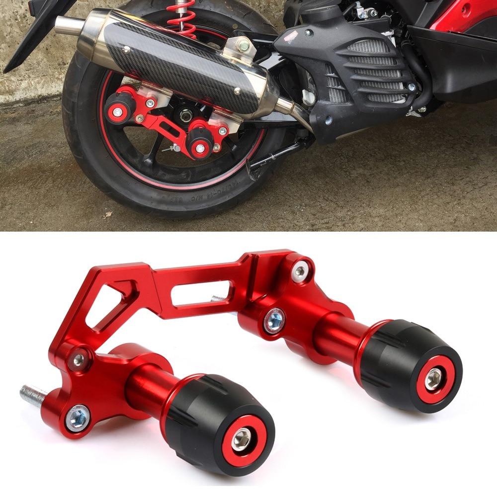 لياماها NMAX 155 300 العادم الأنابيب حامي دراجة نارية الوقوع حماية Aerox NVX155 XMAX300 إطار المنزلق مكافحة السقوط