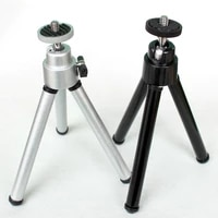 Two Section Mini Tripod with removable ball head for mobile phone for DSLR camera GoPro