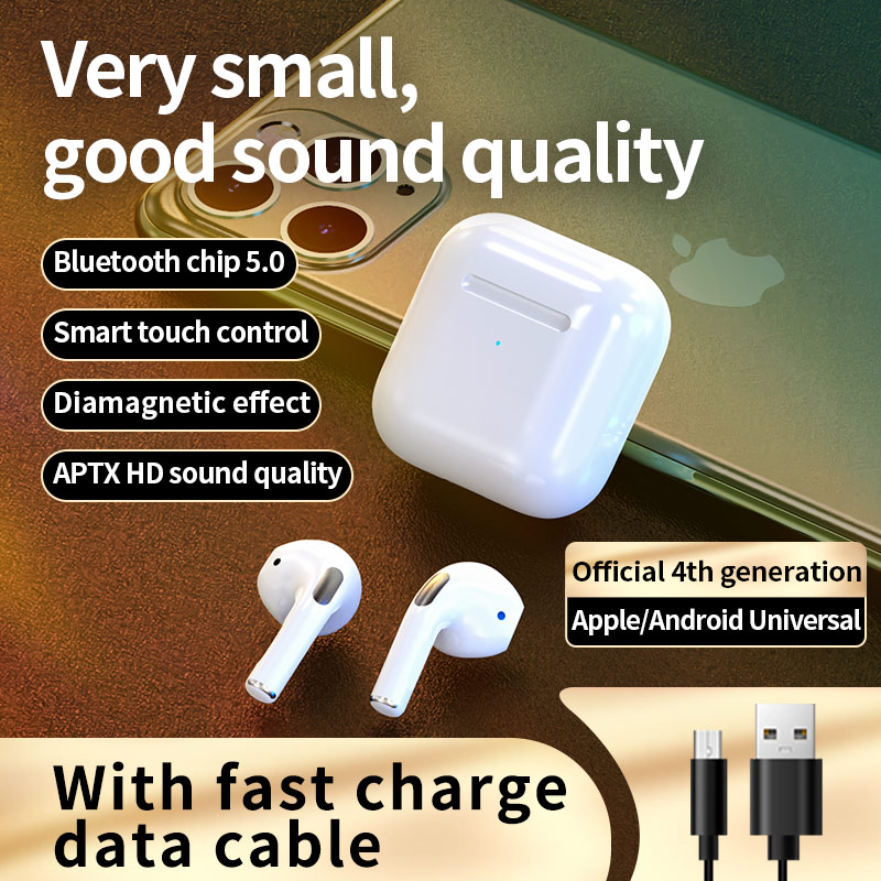VANTEENIE Wireless Earphones TWS Bluetooth 5.0 Sports Headphones Touch Control Earplugs Headsets for