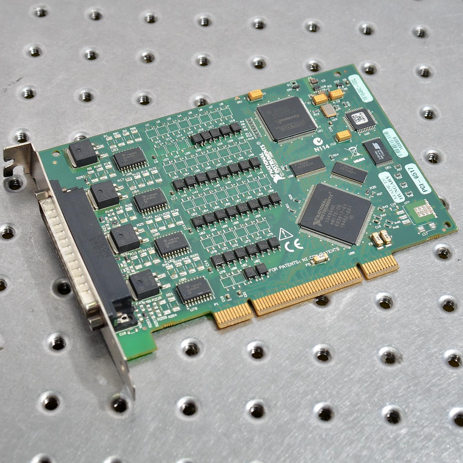 NI PCI-6517 Digital I O Equipment Industrial Digital Output Card enlarge