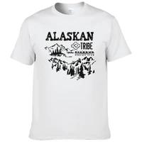 tribe alaskan t shirt men style vintage graphic t shirt short sleeves humorous tees top