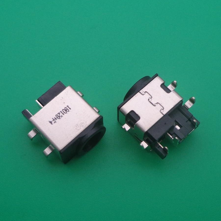 Para Samsung NP R530 R540 QX510 R428 R430 RF510 R580 R730 R780 R528 RV510 SF510 N148 N220 QX410 R480 portátil ac dc power jack