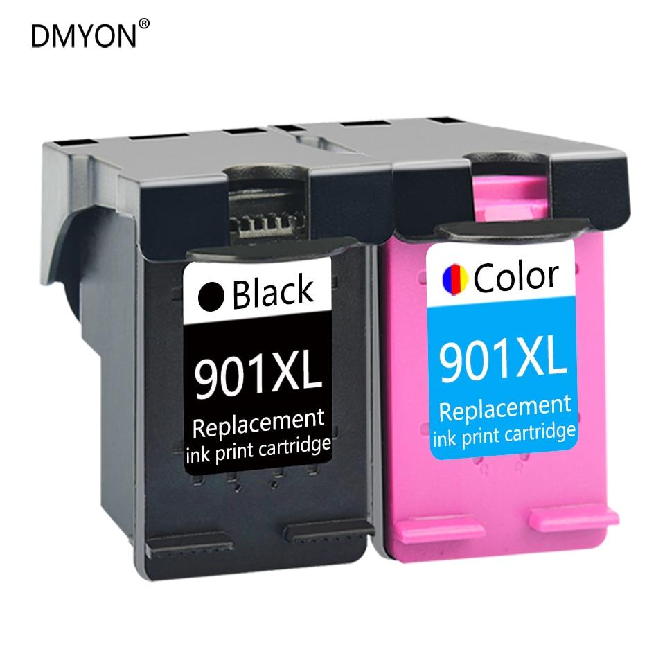 DMYON Cartouche Dencre Compatible pour HP 901 XL Officejet J4500 J4540 J4550 J4580 J4585 J4624 J4535 J4600 J4640 J4660 J4680 Imprimante