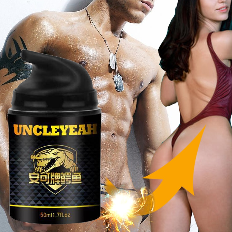 50ML Male penis enlargement cream oily erection extension massage growth massage gel dick increase t