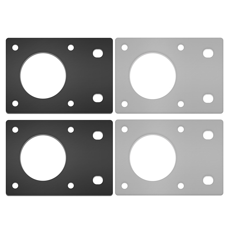 3D Printer Accessories NEMA 17 42-Series Stepper Motor Mounting Plate Fixed Plate Bracket for 3D Printer CNC Parts Fit 2020 Prof