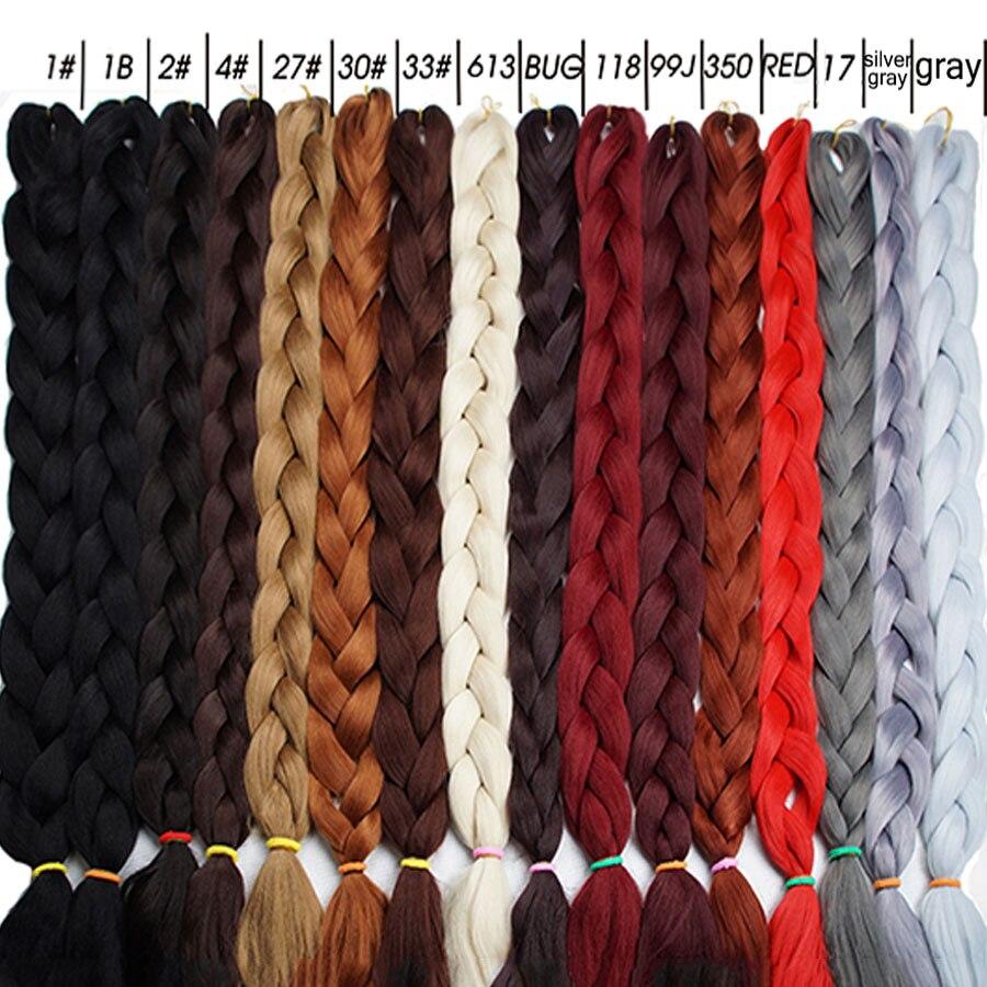 Alizing-Peluca de cabello trenzado jumbo para locs, extensión de cabello súper linda...