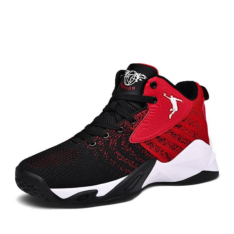 Hombre Zapatos de baloncesto 2020 Zapatillas de deporte de las mujeres baloncesto botas alta antideslizante zapatos de Jordania Zapatillas Basquetball Hombre