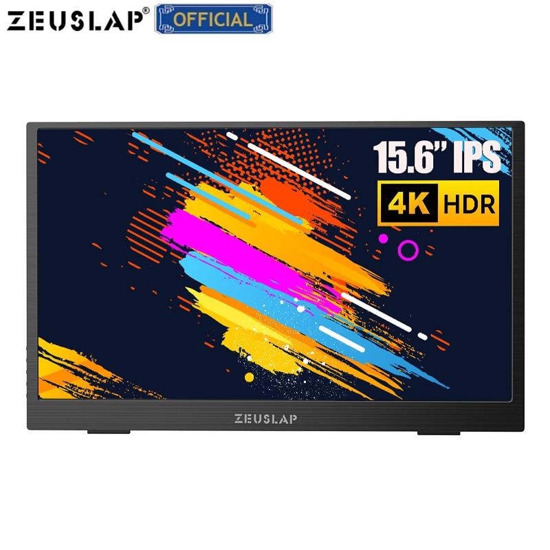 شاشة محمولة 15.6 بوصة LCD USB C نوع C HDMI متوافق مع شاشة عرض ألعاب 1080P/4K FHD عرض ل PS4 كمبيوتر محمول الهاتف Xbox التبديل الكمبيوتر