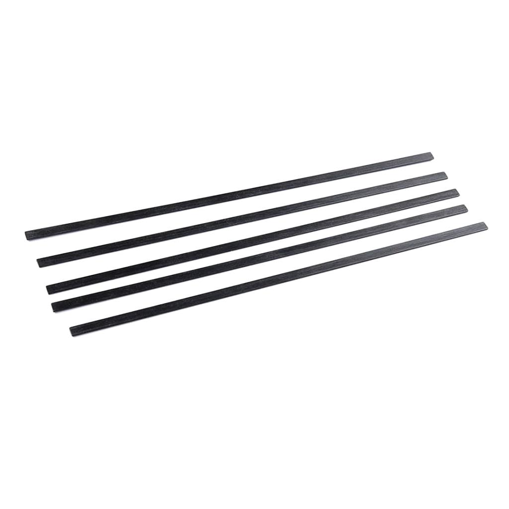 5 шт. стержни из углеродного волокна для моделирования, диоры, пейзаж, 5 мм x 1 мм x 200 мм
