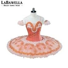 Performance Fairy Doll Platter Tutu Costume BT9124 Pink Fairy Professional Ballet Tutu Women Adult
