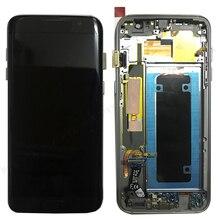 "Для Samsung Galaxy S7 Edge экран Super AMOLED 5,5 ""S7 Edge G935 G935F SM G935F ЖК дисплей сенсорный дигитайзер сборка с рамкой"