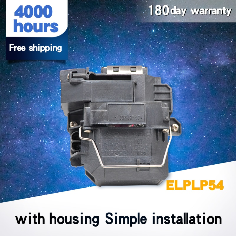 ELPLP54 Free shipping Compatible Projecto Bare Lamp For EB-S7+ EB-S72 EB-S82 EB-X7 EB-X72 EB-X8E EB-W7 EB-W8 V13H010L54