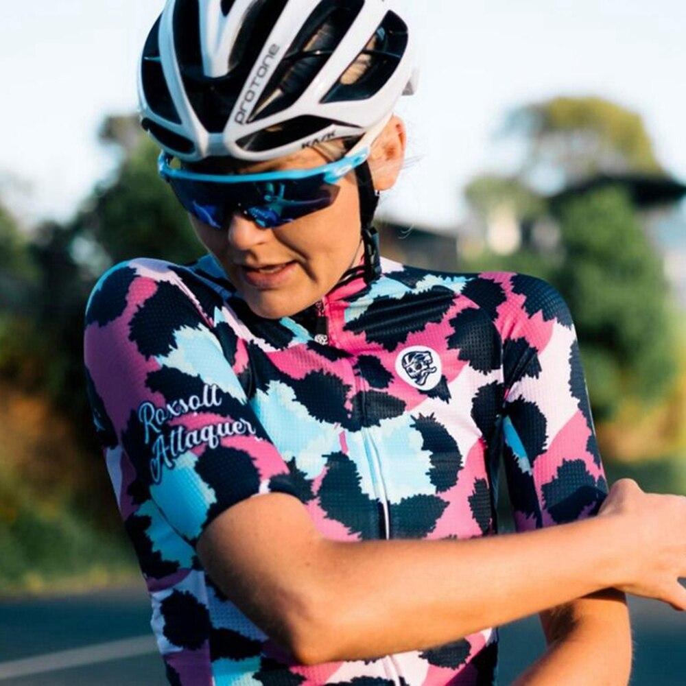 ATQ Team Attaquer Jersey 2020 UCI cycle clothing Racing с коротким рукавом женская спортивная одежда MTB