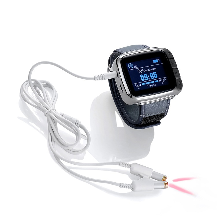 Cold Laser Therapy Wrist Watch for High Blood Pressure and Cholesterol Control Wrist Laser Machine Acupuncture Treatment