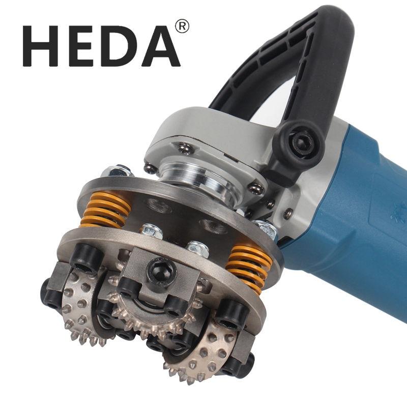 HEDA  5inch 125mm M14 Thread Bush Hammer Grinding Wheel For Granite Marble Stone Grinder Hammer Grinding Disc