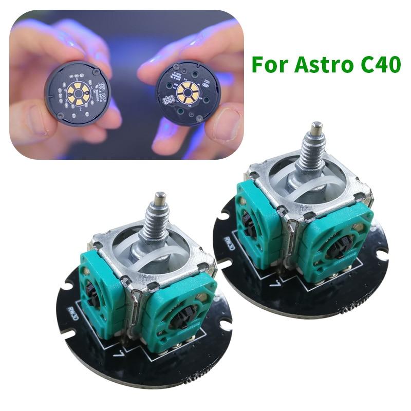 2 шт. 3D аналоговый датчик джойстика модуль потенциометра большой палец палка для PS4 ASTRO C40 TR контроллер запчасти для ремонта