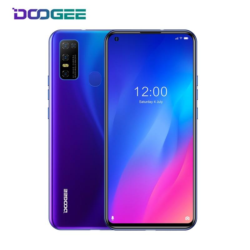 DOOGEE N30 смартфон с 5,5-дюймовым дисплеем, ОЗУ 4 Гб, ПЗУ 6,55 ГБ, 128 мАч, Android 10